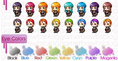maplestory hairs and where to get them character creation character creation