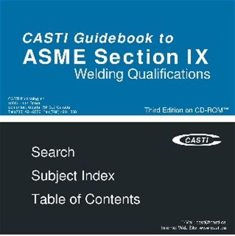 casti guidebook to asme section ix welding qualifications pwl 118 laser orbital welding welding apps for mobile