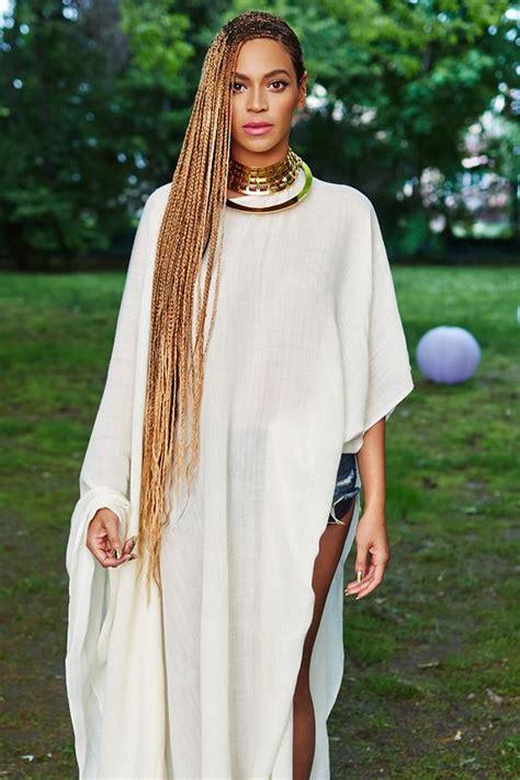 Beyonce Hairstyles Braids
