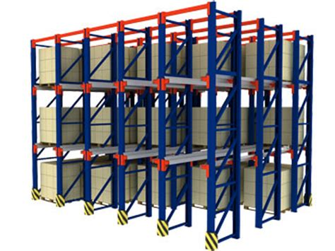 Drive Storage Rack by Drive In Drive Through Storage Rack Equipment