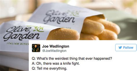 date with olive garden manager dude goes on date with former olive garden manager and live tweets hilarious string of employee