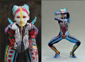 History of graphic design chapter 50 the art of body painting