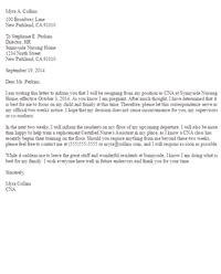 Resignation Letter Due To Unfair Treatment resignation letter due to pregnancy sle sle