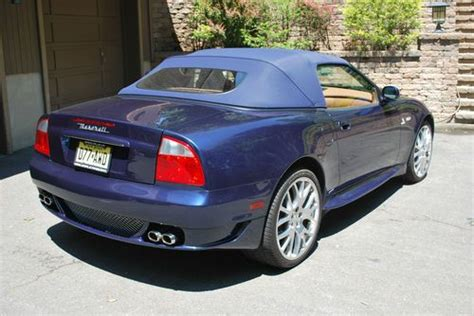 maserati gransport convertible buy used 2006 maserati gransport spyder convertible 4 2l