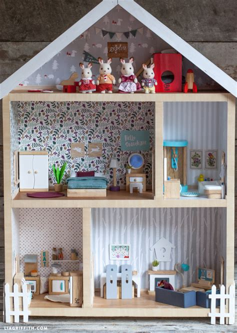 bunny doll house give a home make your own dollhouse lia griffith