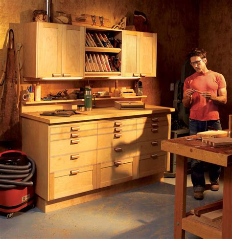 Cabinets Shop Modular Shop Cabinets Popular Woodworking Magazine