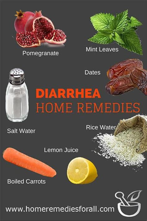 picture of home remedies for diarrhea remedies