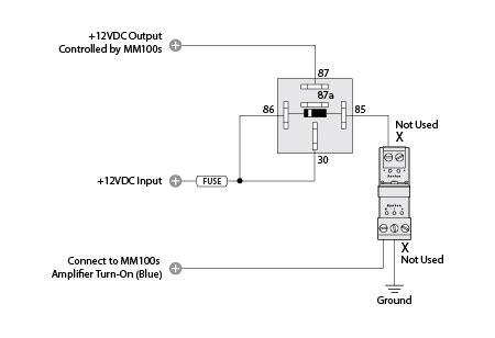 mm100s increased turn on capacity jl audio help
