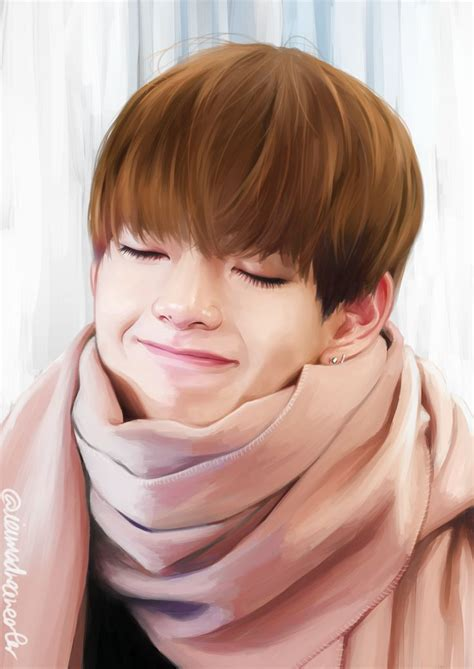kim taehyung chinese name 389 best images about k pop fan art for your seoul on