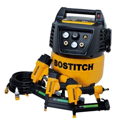 bostitch btfp12237 3 tool pancake free air compressor 150 max psi combo ebay