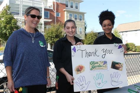 olive garden partners with elkton boys club