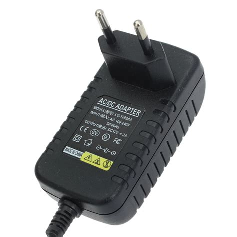 Adaptor Universal 12v universal eu 12v 2a charger adapter with usb cable for