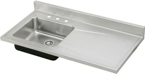 48 inch stainless steel sink elkay s4819l 48 inch single bowl stainless steel sink top