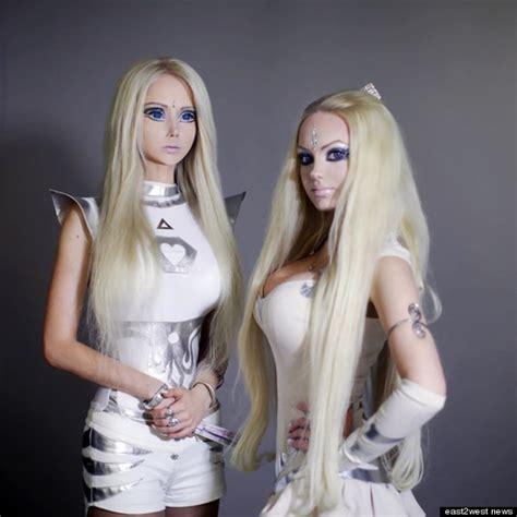 ukraines real life barbies to bring spirituality to valeria lukyanova olga dominica oleynik ukraine s