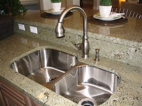 i like the undermount stainless kitchen sink