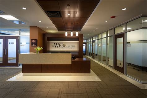 187 webb office reception and lobby