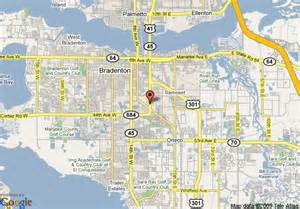 map of days inn bradenton near the gulf bradenton