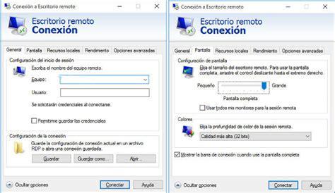 conexi n escritorio remoto como crear una conexi 243 n directa a tu ordenador a trav 233 s