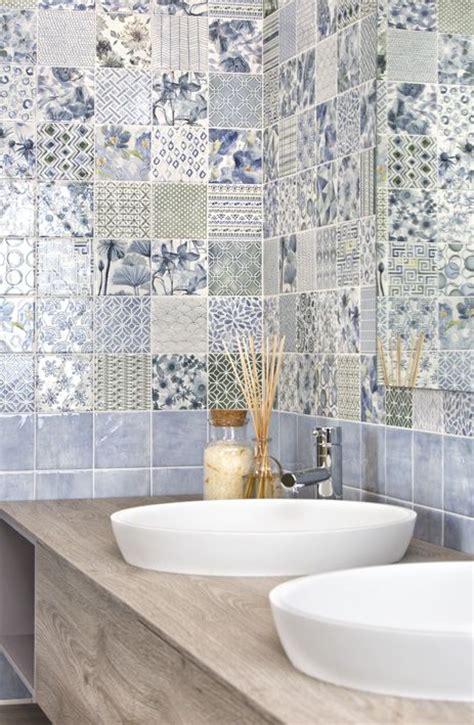piastrelle colorate per cucina 19 best piastrelle bagno images on