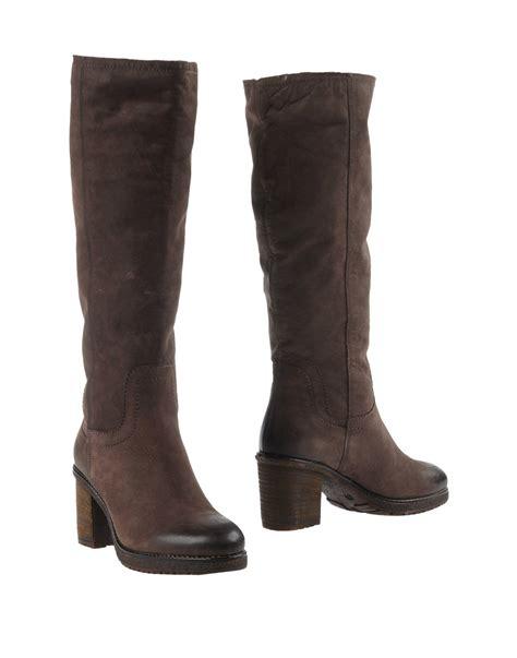 carvela boots for carvela kurt geiger boots in brown lyst