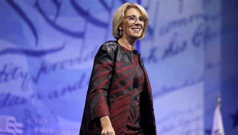 betsy devos business you re wrong betsy devos schools are not businesses