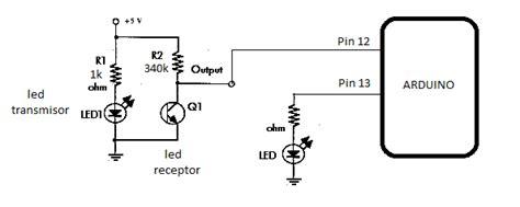 programacion electronica circuito emisor receptor