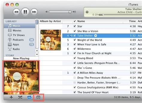 better player than itunes using the itunes 10 album mini player