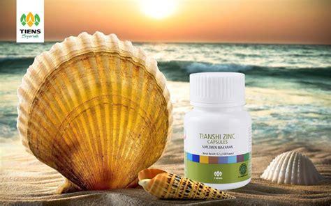 Member Masker Spirulina zinc capsules tiens imunitas hormon pertumbuhan anak