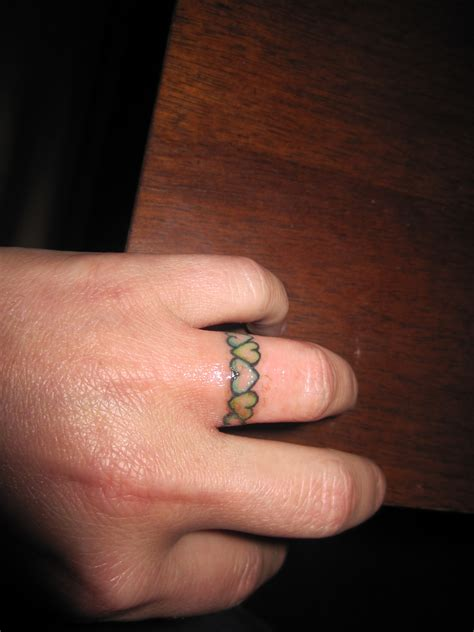 wedding band tattoo my wedding ring wedding band tattooz