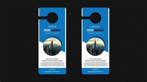 business door hanger design adobe illustrator tutorial