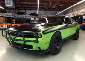 Dodge Challenger Fast And Furious The Dodge Challenger Srt Hellcat Is Featured In Furious 7