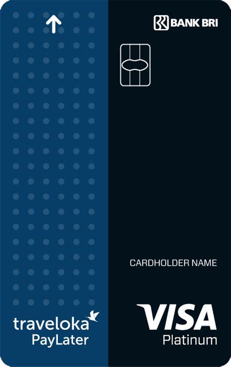 traveloka paylater card bri kartu kredit bank bri