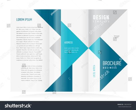 fold out brochure template brochure design template tri fold vector abstract