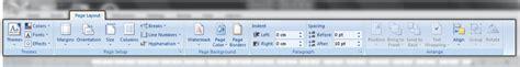 fungsi layout tab fungsi menu dan ikon pada microsoft word 2007 infomatek
