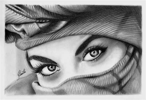 imagenes para dibujar a lapiz ojos ojos de musulmana dibujo a lapiz by epianeta on deviantart