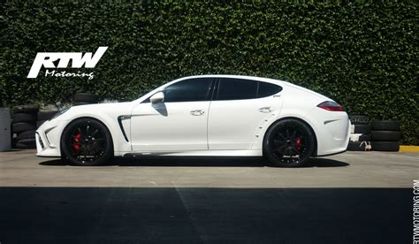 White Porsche Panamera Turbo by Porsche Panamera Turbo Mansory White I 970