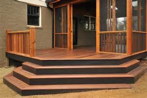 Wooden Front Stairs Design Ideas Stair Ideas For Porches Hgtv