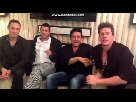 il divo the you il divo saying thank you 12 11 2015