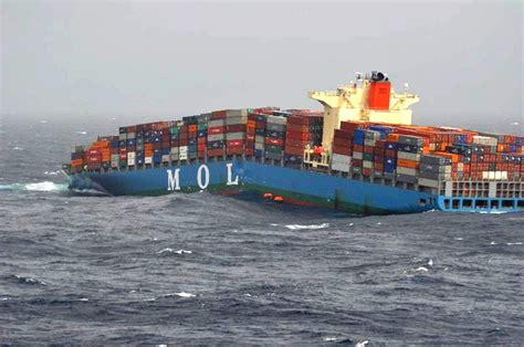 Syarii Mol laboring in foul weather the mol comfort breaks back in the indian on june 17 2013