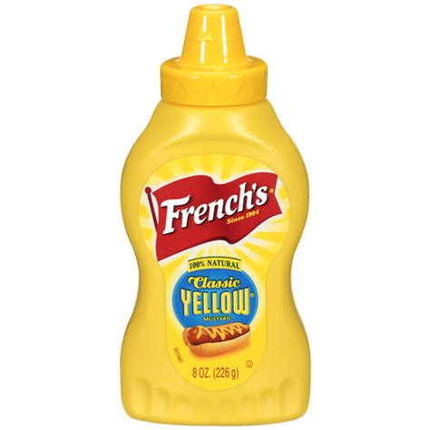 S Classic Yellow Mustard 9 Oz s classic yellow mustard 8 oz walmart