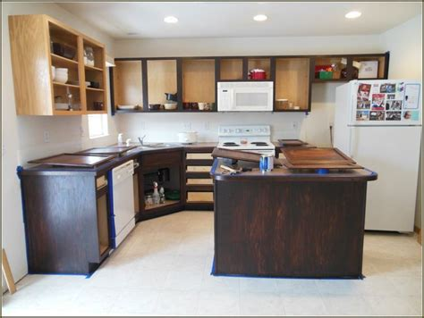 Gel Paint For Kitchen Cabinets 17 Best Ideas About Restaining Kitchen Cabinets On Pinterest Stained Kitchen Cabinets Stain
