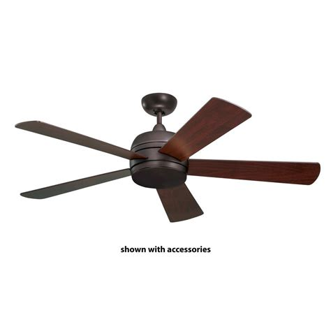 52 outdoor ceiling fan hton bay lillycrest 52 in indoor outdoor aged bronze