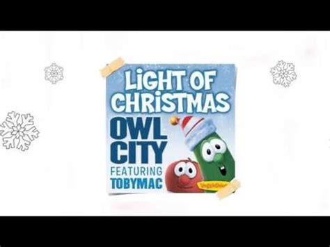 owl city light of christmas feat tobymac audio