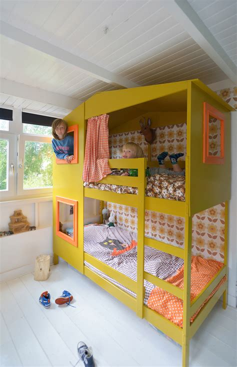 Bunk Bed Studio Rafa Yellow Bunk Bed Studio Soet