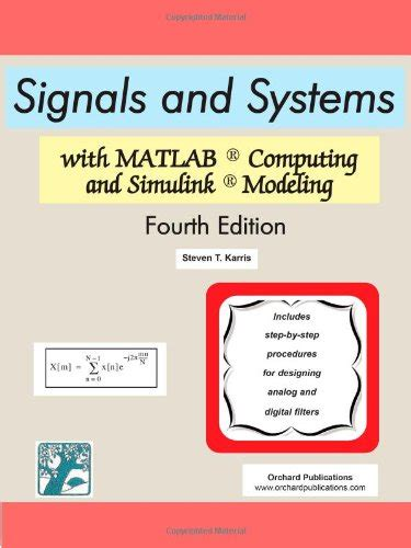 Signal And Systems 13ed signals and systems with matlab computing and