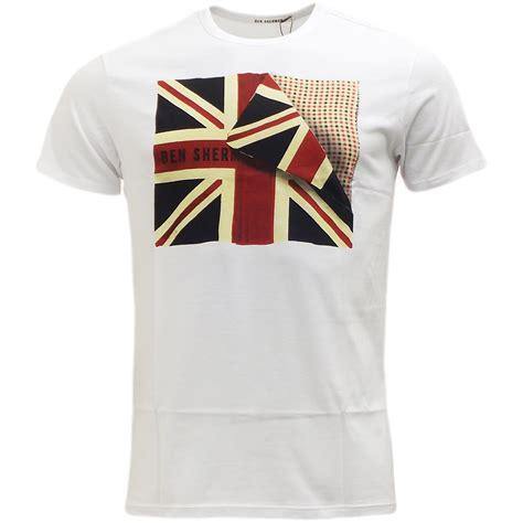 ben sherman union t shirt mens t shirt menswear