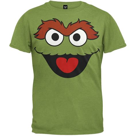 Sesame Shirt sesame oscar the grouch t shirt ebay