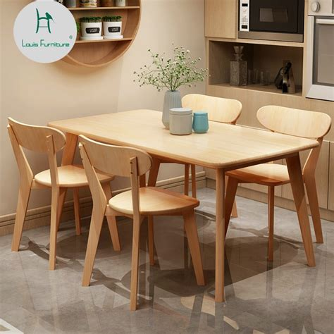 louis fashion dining room sets small apartment north