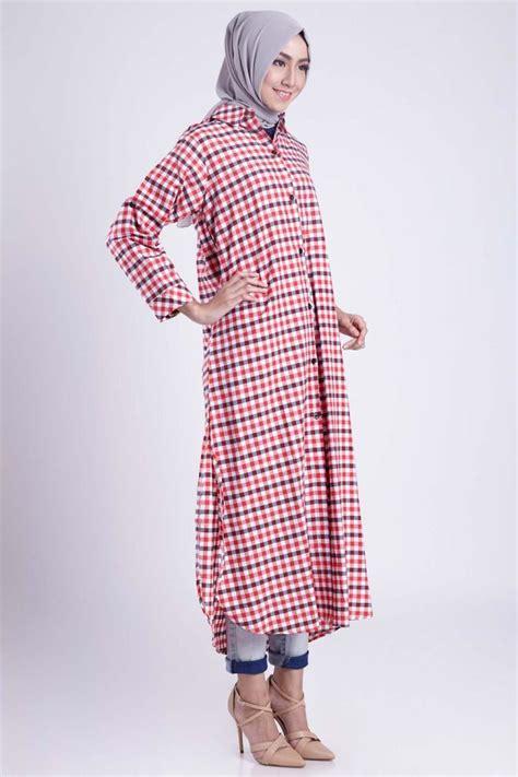Aura Tunik Atasan Wanita 10 inspirasi paduan tunik kemeja panjang dan legging