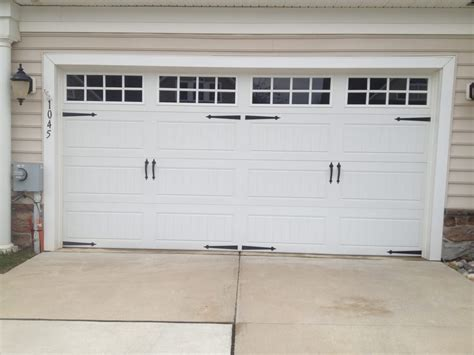 Clopay Gallery Garage Door Long Panel Long Square Grill Clopay Garage Door Windows